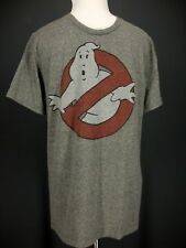 OLD NAVY T Shirt S Mens Gray Ghostbusters Logo Retro Wash