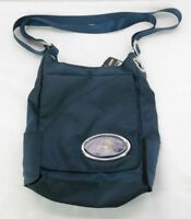 Florida Panthers Grommet Cross Body Bag Navy Blue T3