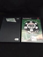 Playstation 2 Monopoly and The World Series of Poker this is 2 game lot