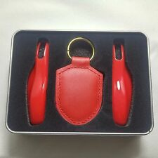 NEW Red Remote Key Case Cover for Porsche boxster cayman 911 Panamera Cayenne