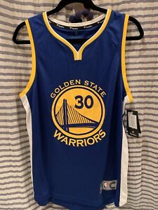Fanatics NBA Youth Golden State Warriors Stephen Curry Fast Break Jersey Small