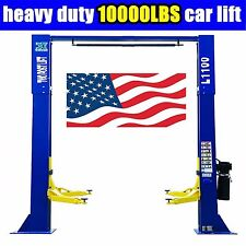 10,000lbs Car Lift  L1100  2 Post Lift Car Auto Truck Hoist