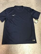 Nike Dry Fit Men's Size Extra Large Navy Blue Shirt. Brand New!