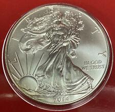 2014  Silver Eagle 1ozt gem BU