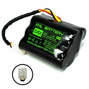 7.2v 4000mAh Rechargeable Ni-MH Battery Pack Replacement for Neato Vacuum Robot