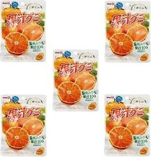 "JAPAN Meiji collagen juice gummy oranges 1 bag ""51g "" x5set  / Free Shipping!"