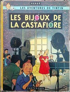 Tintin Les Bijoux de la Castafiore 1963
