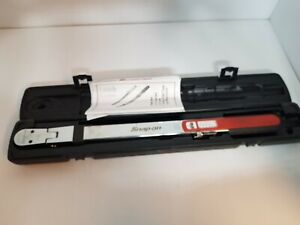 SNAP-ON Torque Wrench TQFR250E (MP2031833) 1/2 Inch Drive Split Beam with Case