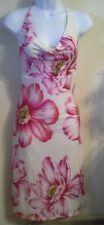 (NWT) Arden B Junior's Size  Medium Pink Floral Halter Dress Retails @$88.00