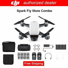 AU Stock!DJI Spark Fly More Combo-Alpine White Quadcopter Drone-12MP 1080p Video