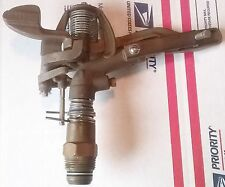 """WEST AG BRASS 1"""" INCH SPRINKLER HEAD PART OR FULL CIRCLE USA MADE SU360 4NDP6"""
