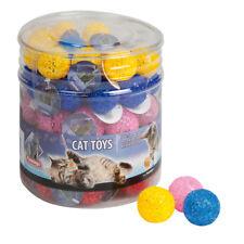 60 Stk. Ball Glitter In Trommel 3.75 Cm Katzenspielzeug
