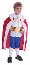 Childs King Robe Costume Toddler Xmas Christmas Fancy Dress Age 2-4 Years P10009