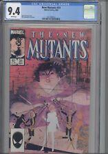 New Mutants #31 CGC 9.4 Marvel 1984 Comic: Chris Claremont Story:NEW CASE