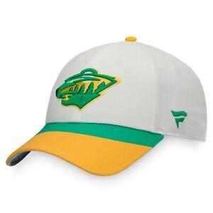 Men's Minnesota Wild Power of 31 NHL Hockey Special Edition Adjustable Hat Cap