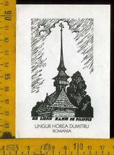 Ex Libris Mario De Filippis c 483  Ungur Horea Dumitru Romania