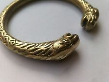 Kara - Men Women Fashion Classy Kadaa Designer Heavy Brass Bracelet Cuff Kada