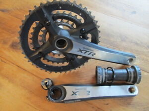 Shimano XTR M970 Triple Ring Crankset 9 Speed