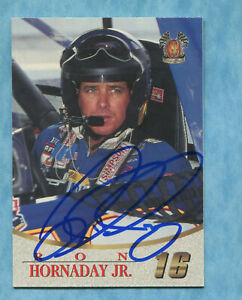 SIGNED 1996 Scoreboard #79 Ron Hornaday- Autographed Card NASCAR Auto