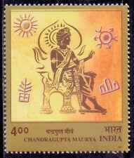 INDIA 2001 Emperor Chandragupta Maurya Royalty King stamp 1v