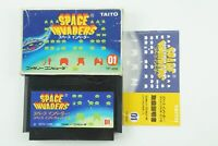 Space Invaders NES Taito Nintendo Famicom Box From Japan