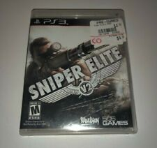 Playstation 3 PS3 Sniper Elite V2  Complete w/Case and Manual Play Tested