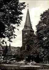 Kirchen Motiv-Postkarte Evangelische Kirche Church in BRAUNLAGE ungelaufen ~1960