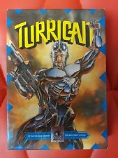 Turrican - Megadrive / Genesis - Boxed with Cards - Rare Cardboard Box Version