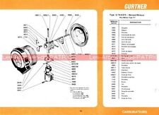 Moteurs BERNARD type 117 : Fiche Carburateur GURTNER U 14.5 673