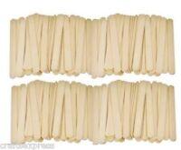 "Flat Wooden 4.5"" Lollipop Sticks, Ice Cream, Sweets, Lollies, Crafts"