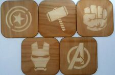 Marvel Avengers Coasters set of 5