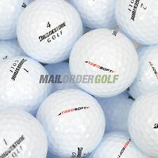 100 Bridgestone Treosoft Golf Balls Lakeballs Pearl / A Grade Treo Soft UK