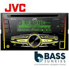 JVC KW-R920BT Double Din Bluetooth CD USB MP3 AUX iPhone Car Stereo Radio Player