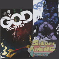 GOD COUNTRY #4 Set of Two COVER A + B VARIANT Image Comics CATES