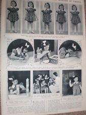 Photo article the Dionne Quintuplets of Callander Ontario Canada 1939