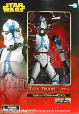 STAR WARS CLONE TROOPER Episode 3 PVC figure 1:7 scale snap-fit 27cm Kotobukiya