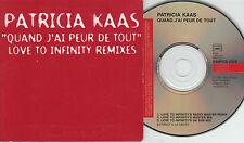 Patricia kaas promo CD quand j 'ai peur de tout (remixé)