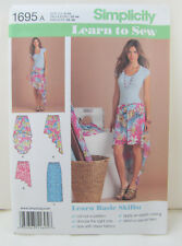 Simplicity Patterns S0398 Size U.S. XXS-XXL New!