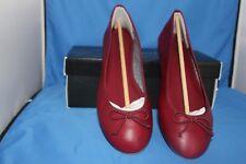 Talbots Women Shoe - Size 11 M -Merlot Jilly - Cranberry Red