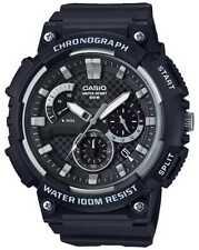 Casio Chronograaf Zwart Kunststof Kast Zwart MCW-200H-1AVEF Horloge