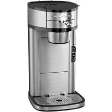 Hamilton Beach The Scoop Single Serve Coffee maker Stainless Steel | 49981