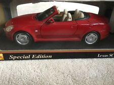 LEXUS SC 430. 1:18. Special Edition. RED. MAISTO. Boxed.