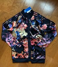 ADIDAS ROSE SST JACKET MULTI COLOR FULL ZIPPER YOUTH KIDS XL 14-15 170 NWT