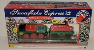 Lionel Snowflake Express Train Pack Battery Powered Works with Thomas & Friends