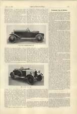 1921 Automatic Mechanical Train Controller 9 Hp Bradshaw Belsize Car