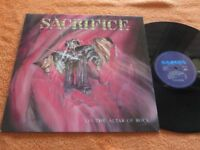 SACRIFICE on the altar of rock    CAMEL REC. 1985   Vinyl/ Cover:mint(-) TOPCOPY