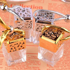 1X Cheap Perfume Bottle Car Essential Oils Pendant Air Freshener Mini Diffuser