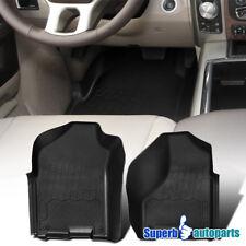 09-18 Dodge Ram 1500 Quad Cab Pickup Truck Black Rubber Floor Mats Front 2PC