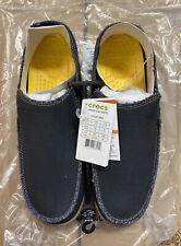 Mens CROCS Santa Cruz Black/khaki Relaxed Fit Brand New Size 13