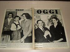 OGGI=1955/2=DARIUS MILHAUD=ZOE NEWTON=FULVIO CAMPIOTTI K2=JEAN LOUIS BARRAULT=